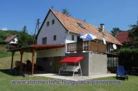 Önálló nyaralóház (70 m2) + terasz  1 - 6 fő részére kiadó (+ pótágyazható)